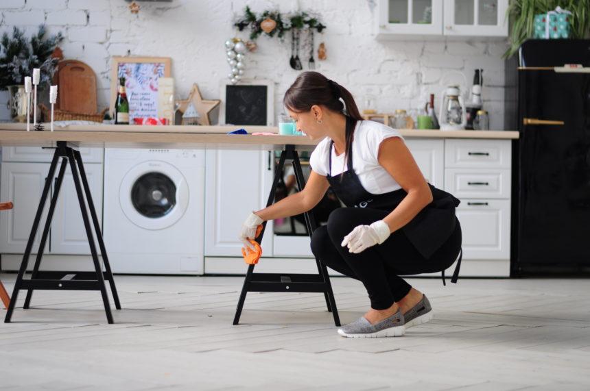 Генеральная уборка квартиры или дома